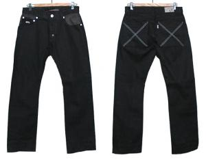 HUGEBLOCKS 【X-Denim】 BLACK