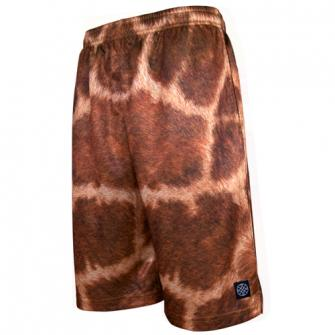 HXB 【Graphic Mesh Pants】 Giraffe