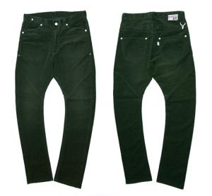 HB X BIG JON 【BANANA CORDUROY PANTS】 MOSS GREEN
