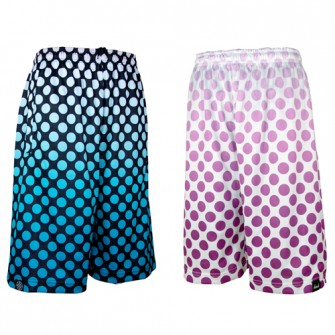 HXB 【REV MESH PANTS】 DOTS.BLK/MINT / WHT/PURPLE