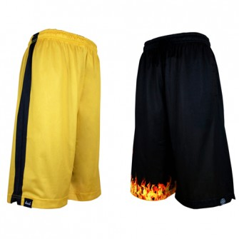 HXB 【REVERSIBLE MESH PANTS】 DRAGON